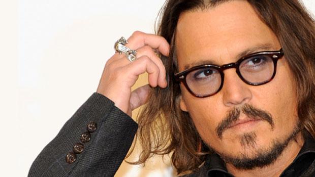 Johnny Depp mit Brille
