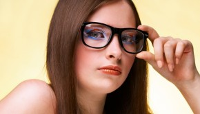 Teen Wearing Glasses